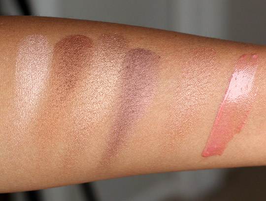 lorac wild for tantalizer collection swatches