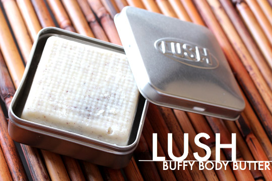 lush buffy body butter