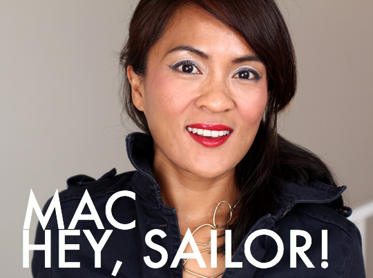 Shore Enough, the MAC Hey, Sailor! Blushes Are Softer Than Usual Summer Fare