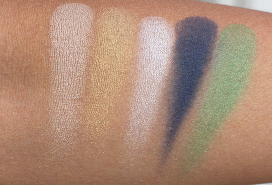 mac hey sailor eyeshadow swatches