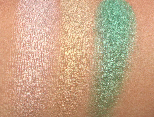 mac hey sailor swatches eyeshadows