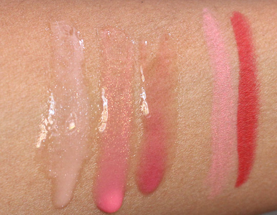 mac hey sailor swatches sun tints lip pencils