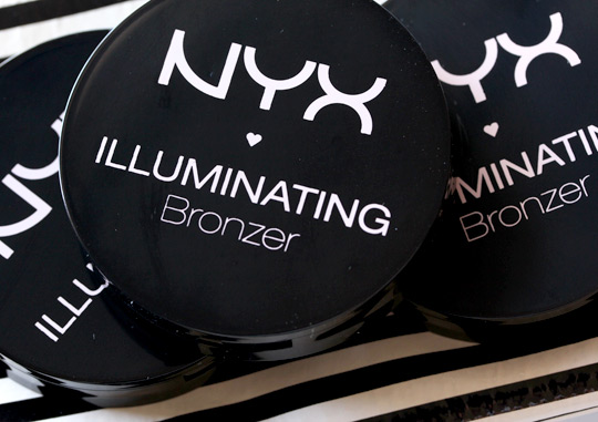 nyx illuminating bronzer compacts