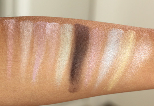 nyx spring fling swatches