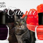 Tabs for the Deborah Lippmann Caviar Collection