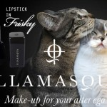 Tabs for Illamasqua Lipstick in Frisky
