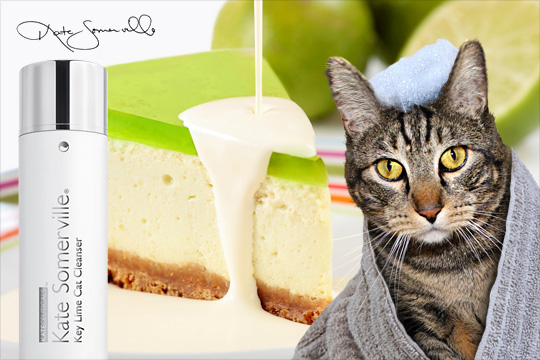 Tabs for Kate Somerville Key Lime Cat Cleanser