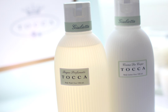 tocca giulietta bagno profumato body wash and crema da corpo body lotion