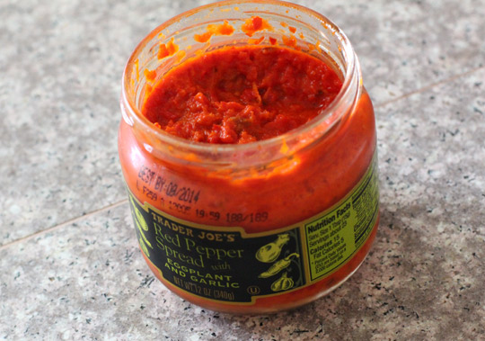 trader joes red pepper spread