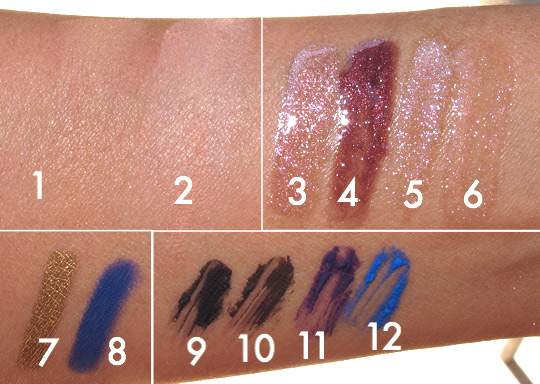 yves saint laurent summer 2012 swatches 4
