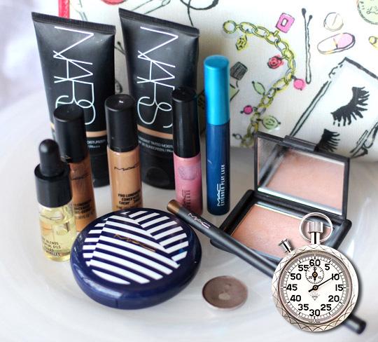 10-minute summer makeup
