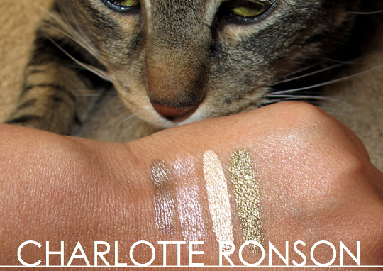 Charlotte Ronson Starry Eyes Liquid Eyeshadow swatch