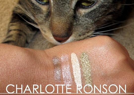 Charlotte Ronson Starry Eyes Liquid Eyeshadow swatch