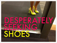 A DSW Neon and Nude Shue Adventure