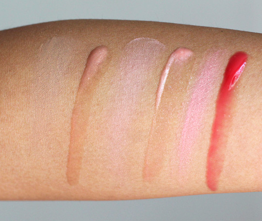 benefit ultra plush gloss swatches