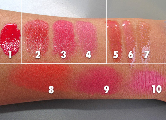 estee lauder brasil dream swatches