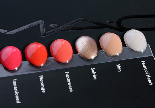 mac nail lacquer swatches 1