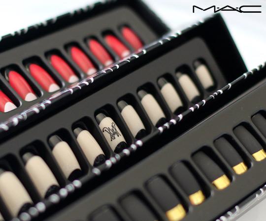 mac ruffian manicure