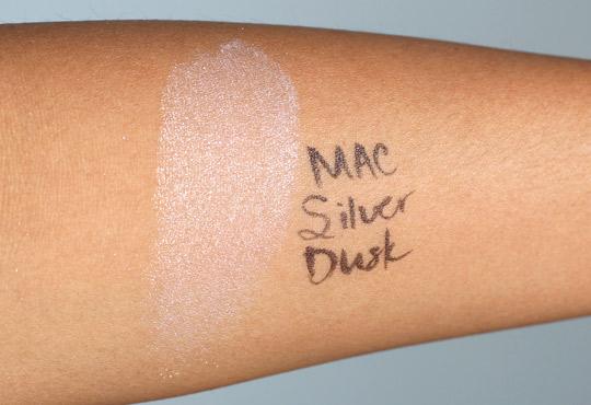 mac silver dusk swatch