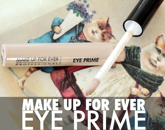 make up for ever eye prime