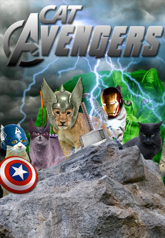 Tabs for Cat Avengers