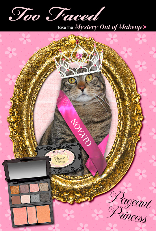 Tabs for the Too Faced Pageant Princess Palette