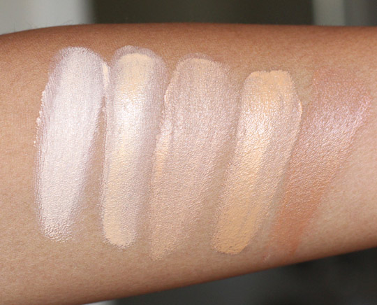 tarte maracuja miracle foundation swatches