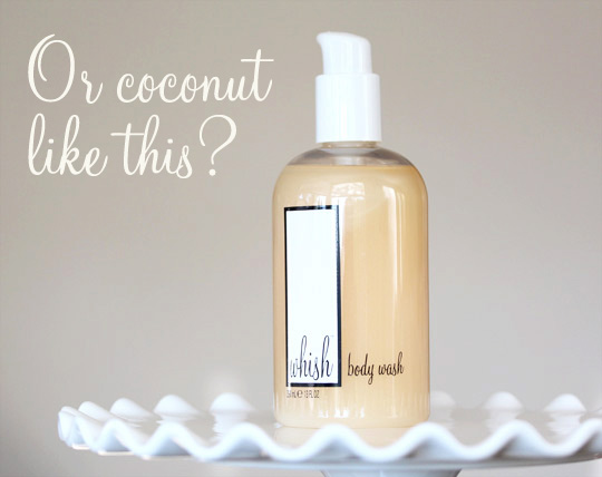 Three Whishes Coconut Body Wash