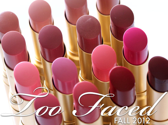 too faced fall 2012