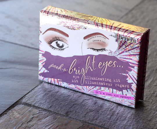 benefit peek a bright eyes eye illuminating kit product shot