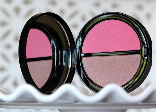 bobbi brown bronzer blush duo bahama brown pink peony