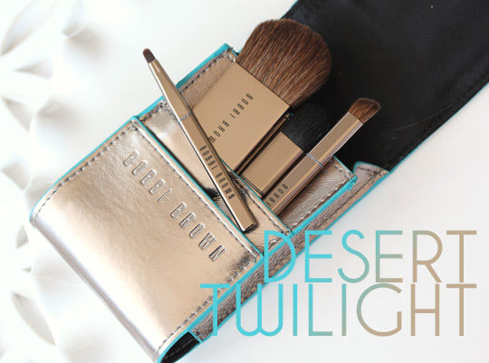 bobbi brown desert twilight mini brush kit