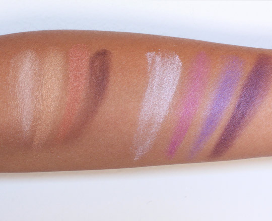 elf flawless eyeshadow swatches