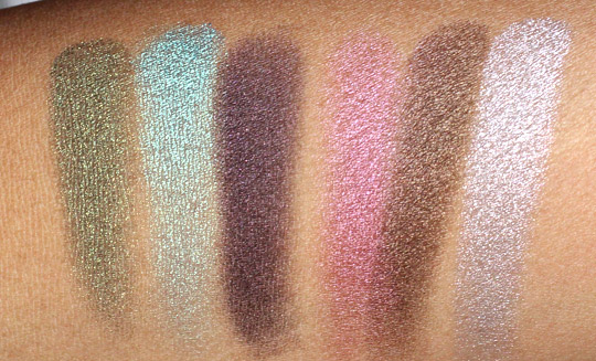 loreal infallible swatches