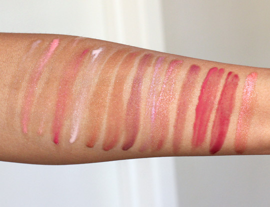 neutrogena moistureshine gloss swatches