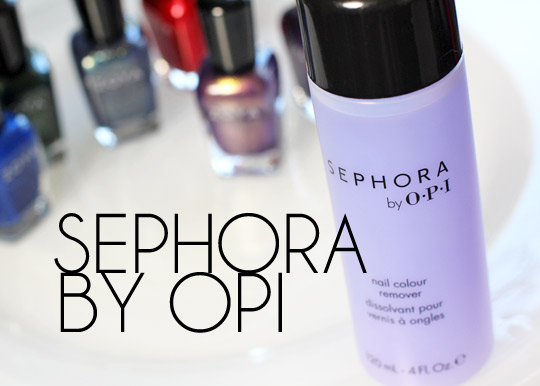 sephora by opi nail colour remover