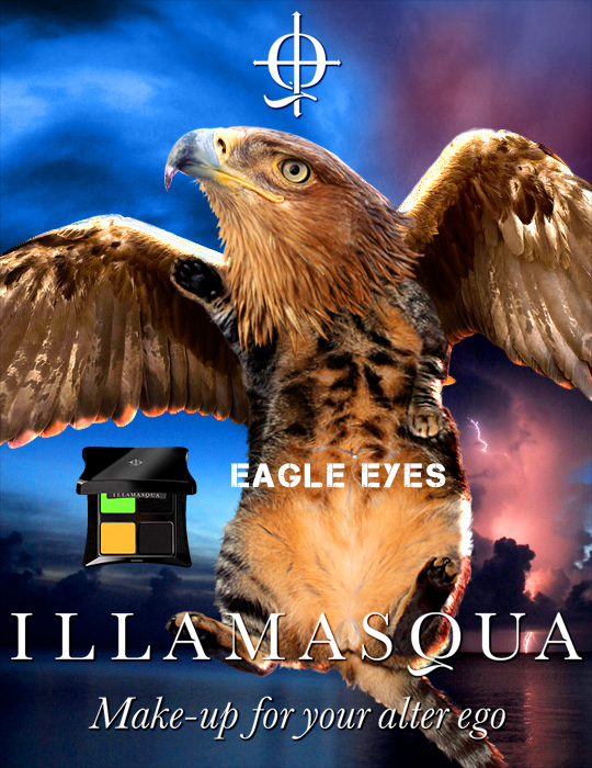 Tabs for the Illamasqua Eagle Eyes Quad