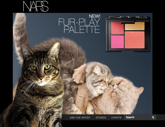 Tabs for NARS Furplay Palette