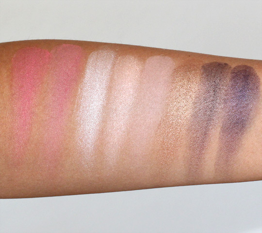 tarte amazon eyescape swatches