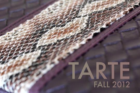 tarte fall 2012