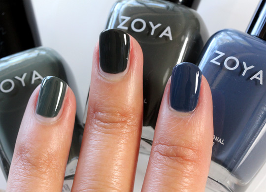 Zoya Designer Collection in Evvie, Noot and Natty