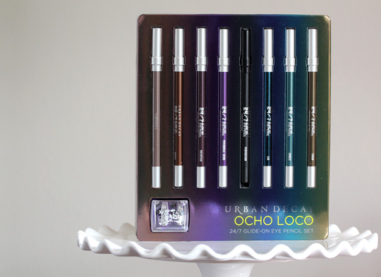 Urban Decay Ocho Loco 24/7 Glide-On Eye Pencil Set
