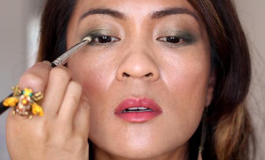 khaki eye makeup tutorial 3