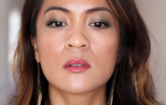 khaki eye makeup tutorial 5