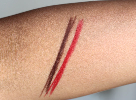 laura mercier lip pencil swatches