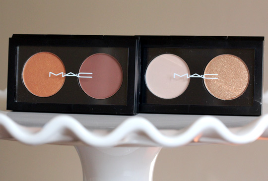 mac marche aux puces culturalized eye shadow X 2