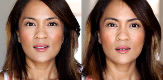 make up for ever aqua brow before and after