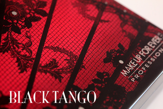 make up for ever black tango