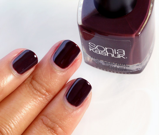 Sonia Kashuk All Vamped Up swatch