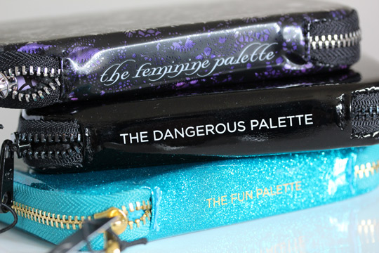 urban decay feminine dangerous fun palettes holiday 2012